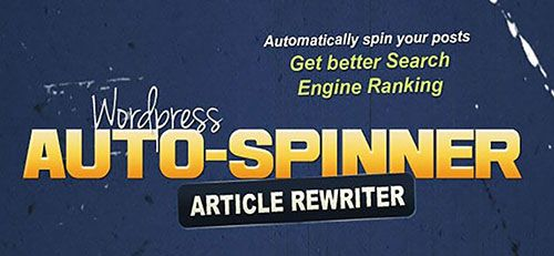 wordpress auto spinner plugin