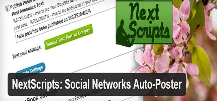 Automatically Share WordPress-Posts To Social Sharing Networks