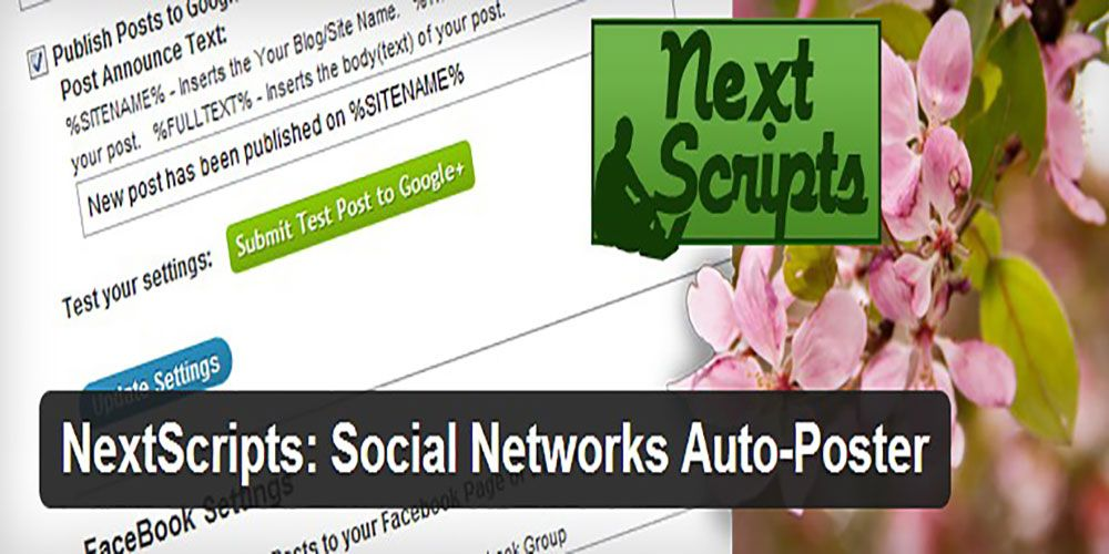Automatically Share WordPress Posts To Social Networks