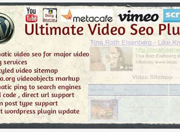 WordPress Video Sitemap – Ultimate Video SEO Plugin