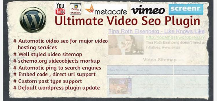 WordPress Video Sitemap