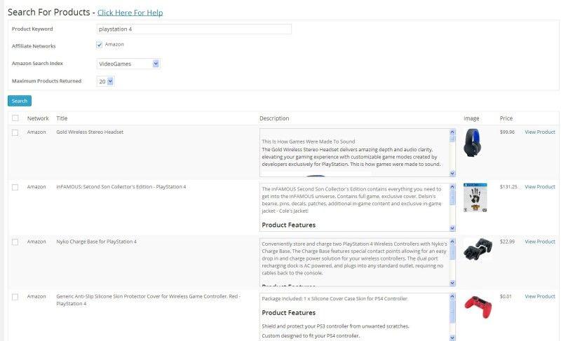 create fast affiliate site