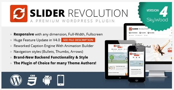 revolution slider best wordpress slider plugin