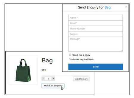 Product Enquiry for WooCommerce