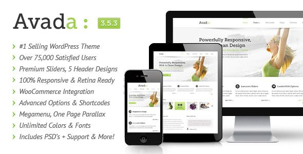 avada multipurpose wordpress theme