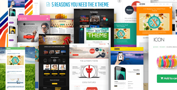 x theme wordpress multipurpose theme