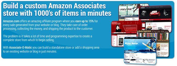 Associate O Matic Amazon Store Builder