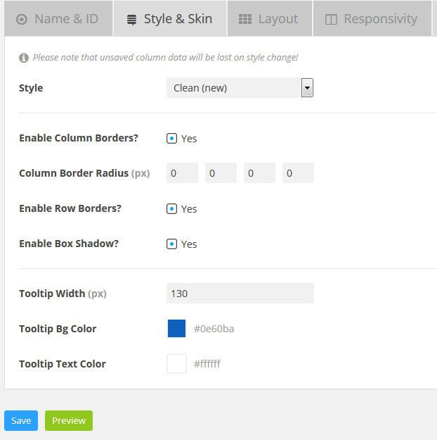go pricing table plugin review