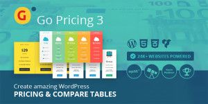 Go Pricing 3 review WordPress Table Plugin Review