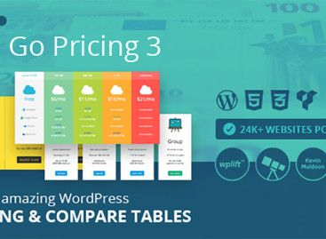 Go Pricing – WordPress Table Plugin Review