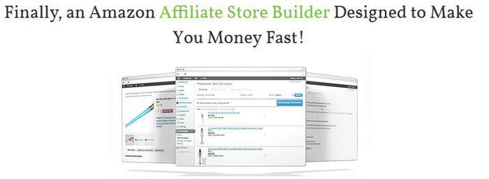 prosociate amazon affiliate store builder