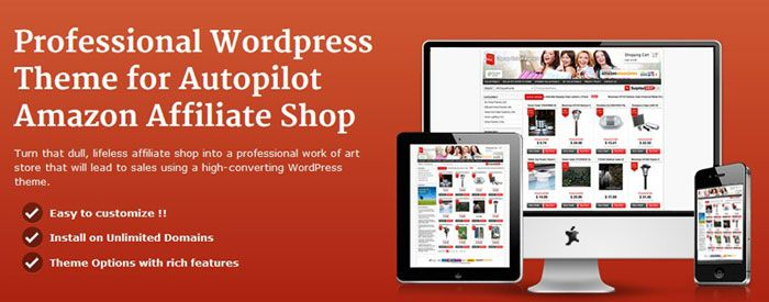 wordpress affiliate store amazon wordpress theme
