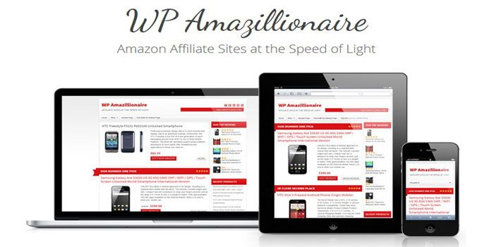wp amazillionaire amazon review affiliate sites
