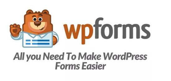 wpforms form builder plugin