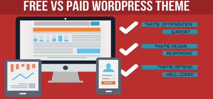 Free Vs Paid WordPress Theme comparison