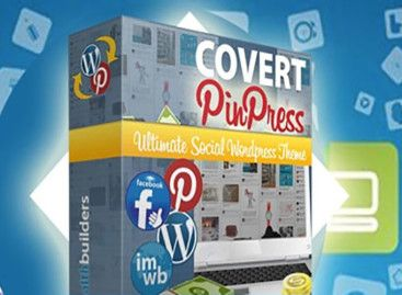 Using WordPress Pinterest Theme With Covert PinPress
