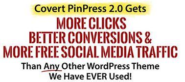 Using WordPress Pinterest Theme With Covert PinPress
