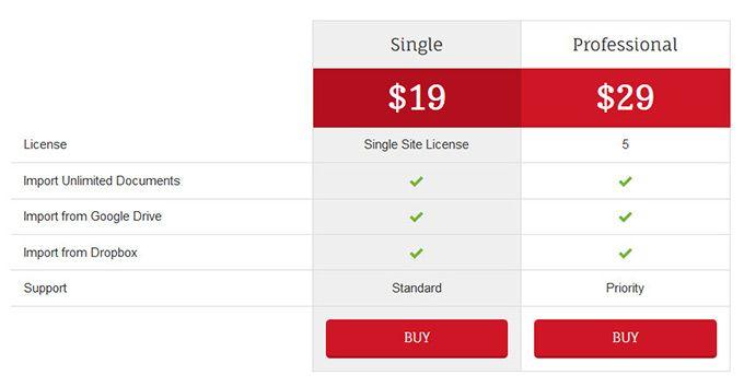 plugmatter-document-importer-pricing-plan