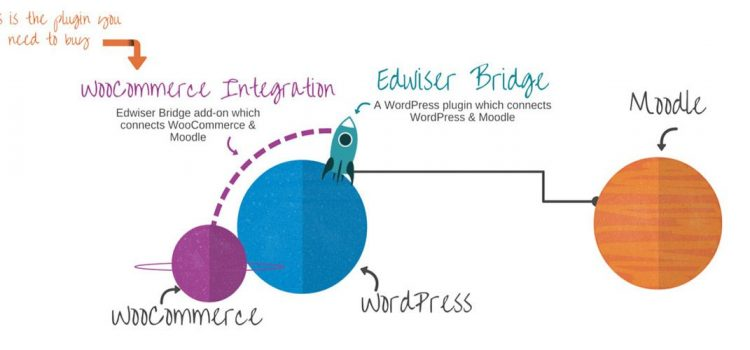 Sell Moodle Courses in WordPress with edwiser bridge plugin