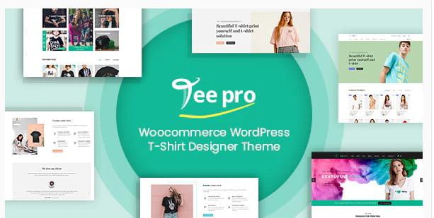 Woocommerce Custom T-Shirt Designer WordPress Theme.