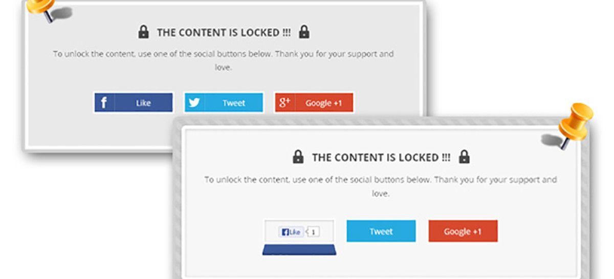 Using WordPress Social Locker Plugin – Top 3 Comparison