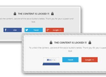 Using WordPress Social Locker Plugin – Top 3 Comparison