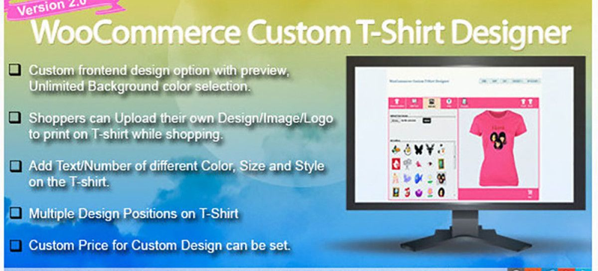 Customize Shirts Using WordPress T Shirt Designer Plugin