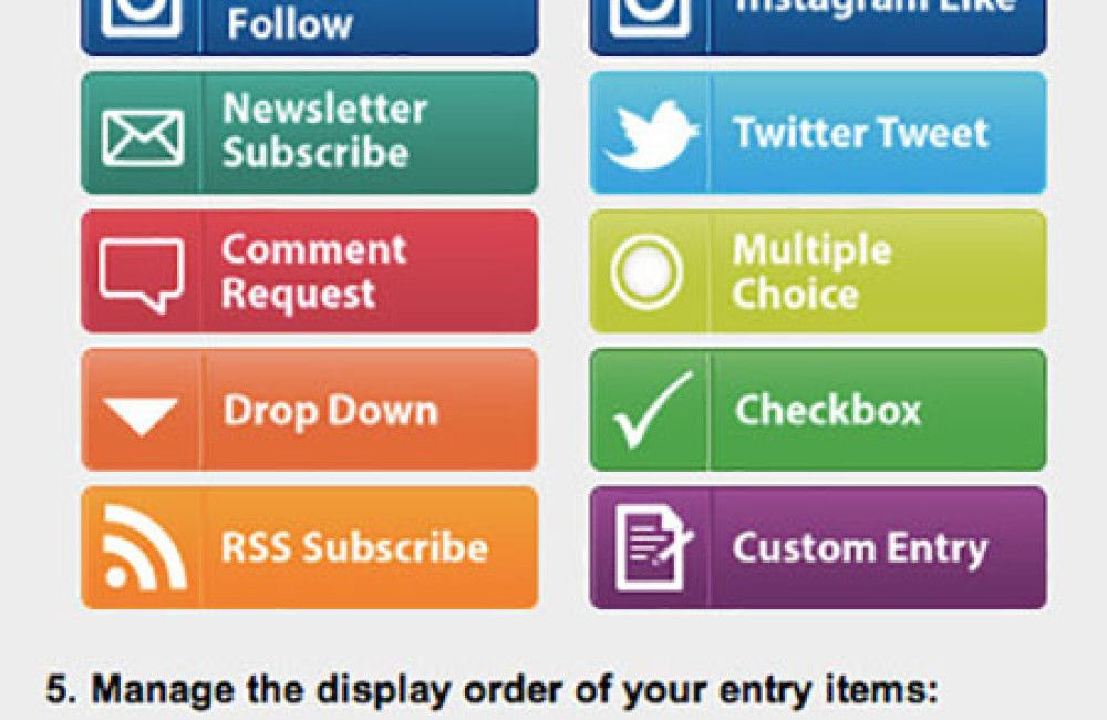 PromoSimple Entry Options
