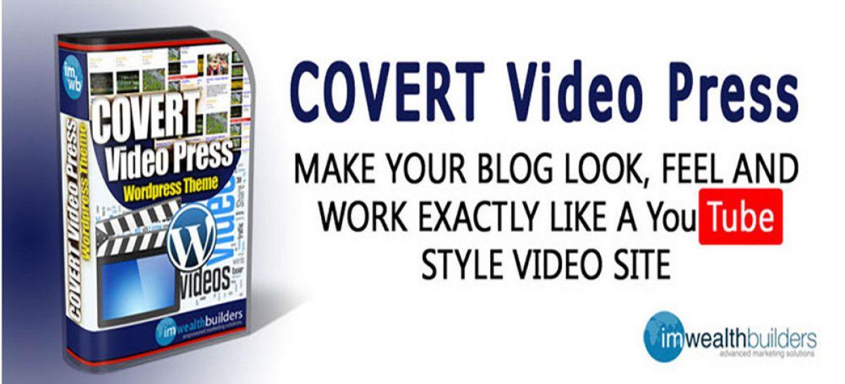 Video WordPress Theme With Covert Video Press