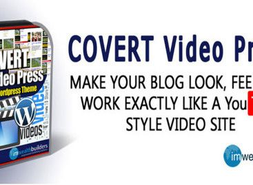 Video WordPress Theme With Covert Video Press