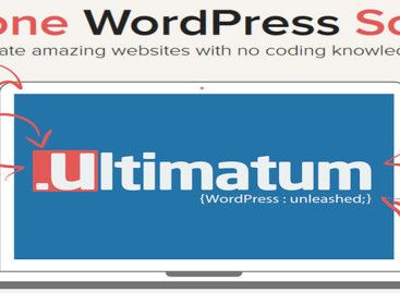 WordPress Page Builder Theme – Ultimatum