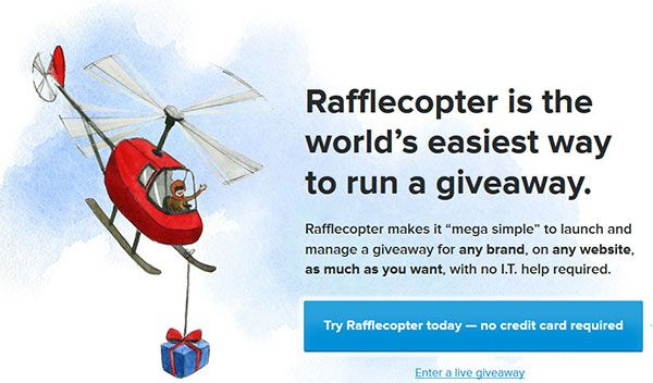 rafflecopter-vs-gleam-vs-promo-simple-giveaway