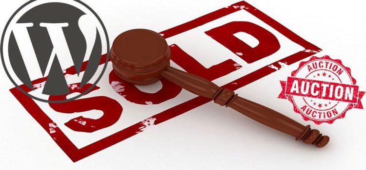 WordPress Auction Plugin