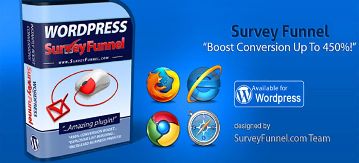 Best WordPress Survey Plugin? Collect Information Using WP SurveyFunnel