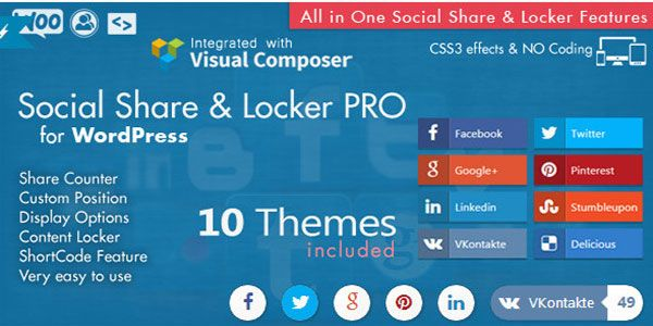 Social-Share-&-Locker-Pro-Wordpress-Plugin