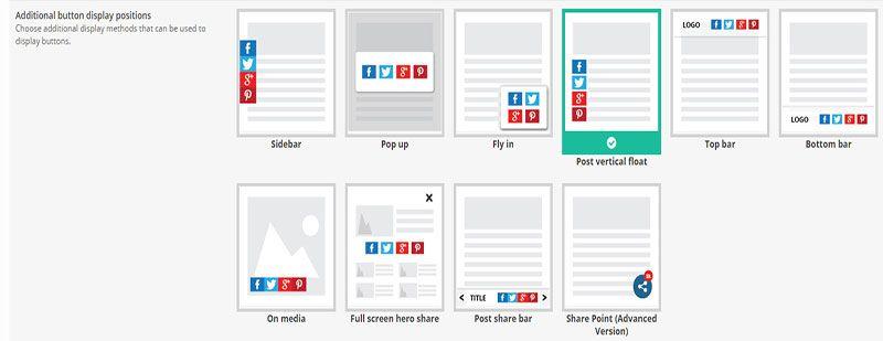 wordpresss mobile social sharing plugin