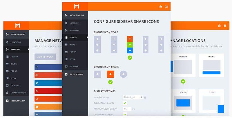 monarch-social-media-sharing-plugin-dashboard