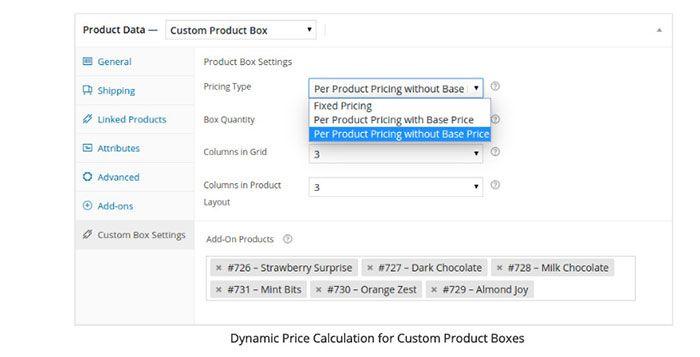 custom product box wordpress plugin for woocommerce