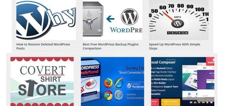 Best Free WordPress Related Post Plugins Comparison