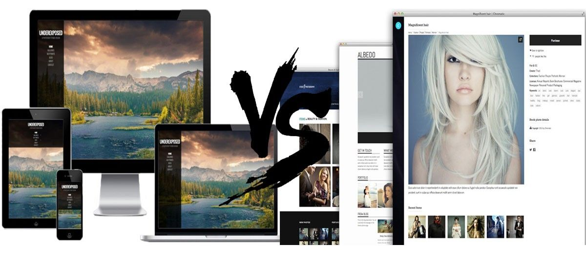 Best WordPress Photography Theme? Photocrati vs Sell Photos Comparison