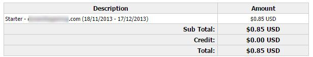 halfdolarhosting invoice