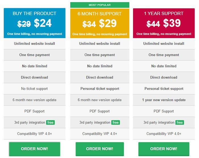 joom-united-wp-table-manager-pricing-plans