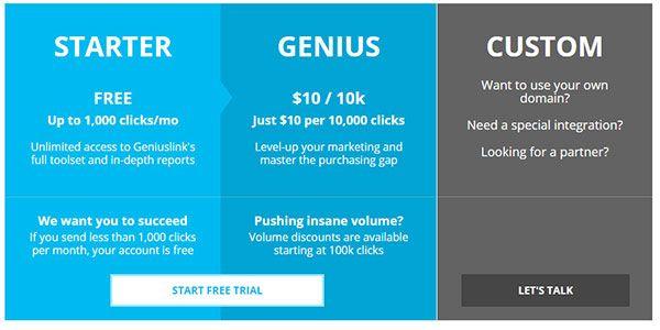 geniuslink-pricing-plans