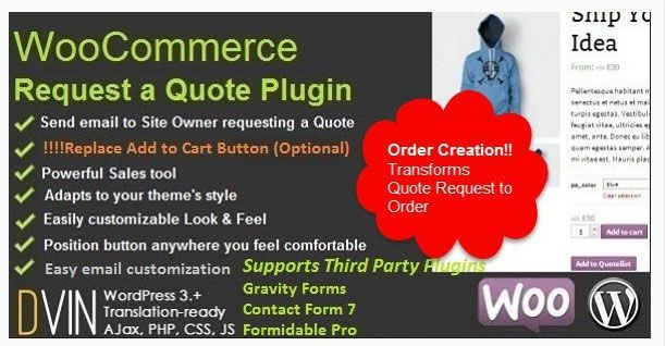 woocommerce quote cart