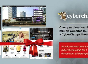 Win CyberChimps Club 1 Year's Access Giveaway