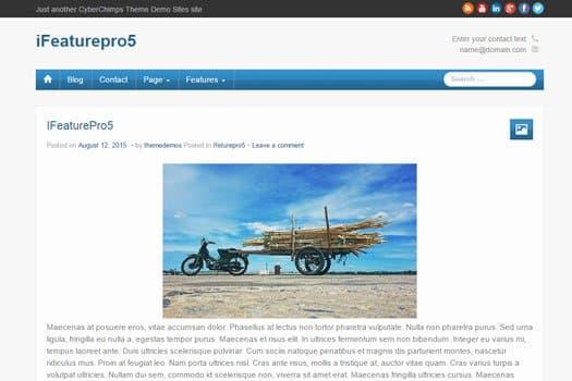 ifeaturePro11 wordpress theme