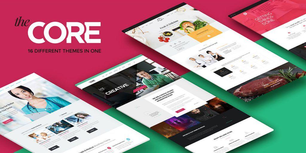 the core wordpress theme giveaway