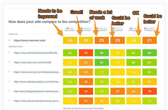 improve my ranking WordPress