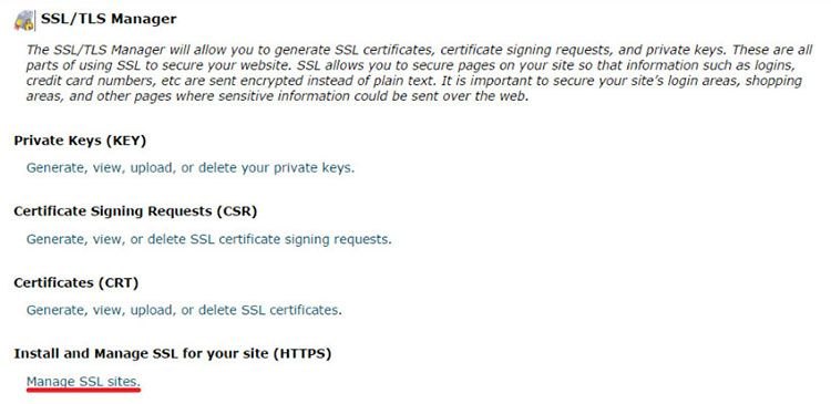 how to add ssl certificate to website