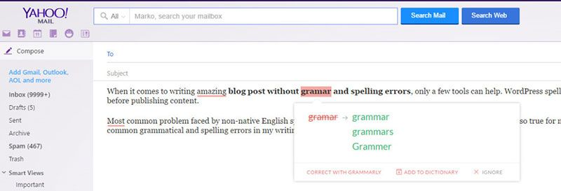 grammar check plugin wordpress